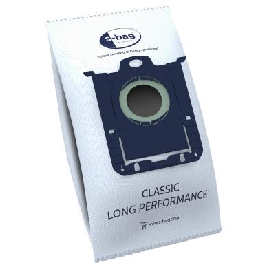 Original Dammsugarpåsar, S-bag Classic Long Perf., syntet, 4st. E201 Replace: N/A